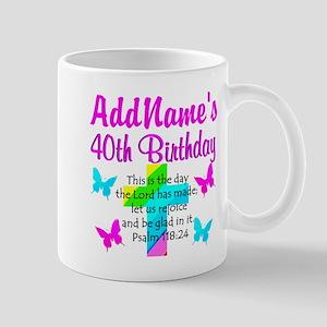 LOVING GOD 40TH Mug