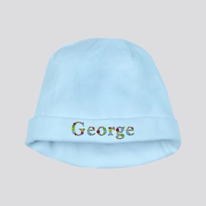 George Bright Flowers baby hat