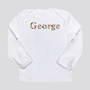 George Bright Flowers Long Sleeve T-Shirt
