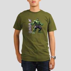 The Hulk Organic Men's T-Shirt (dark)