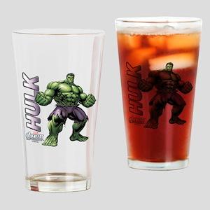 The Hulk Drinking Glass