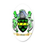 Eicker Oval Car Magnet