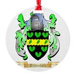 Eichenholz Round Ornament