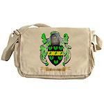 Eichenholz Messenger Bag