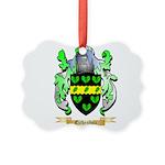Eichenholz Picture Ornament