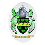 Eichenholz Ornament (Oval)