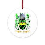Eichenholz Ornament (Round)
