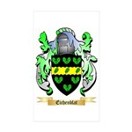 Eichenblat Sticker (Rectangle 10 pk)