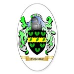 Eichenblat Sticker (Oval 50 pk)