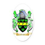 Eichel Oval Car Magnet