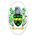 Eichel Sticker (Oval 50 pk)