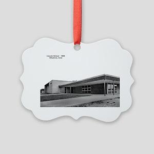 Lincoln School Picture Ornament