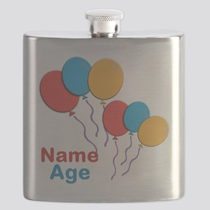 CUSTOMIZE Happy Birthday Any Age Flask