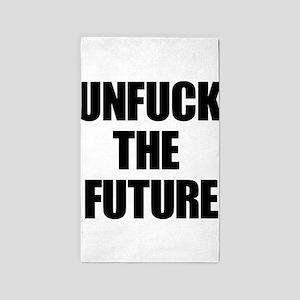 Unfuck the Future 3'x5' Area Rug