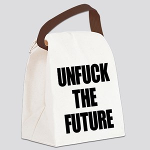 Unfuck the Future Canvas Lunch Bag