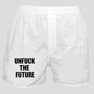 Unfuck the Future Boxer Shorts