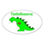 Footballasaurus Sticker