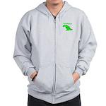 Footballasaurus Zip Hoodie