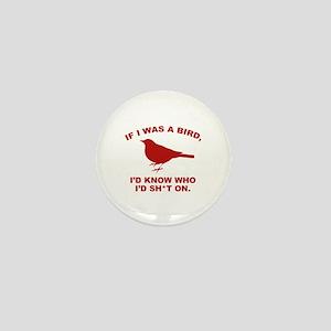 If I Was A Bird Mini Button