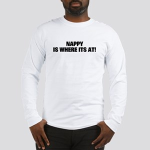 Nappy Hair Long Sleeve T-Shirt