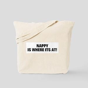 Nappy Hair Tote Bag