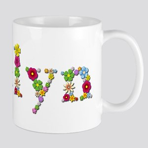 Evelyn Bright Flowers Mugs