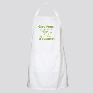 Give Peas a Chance BBQ Apron