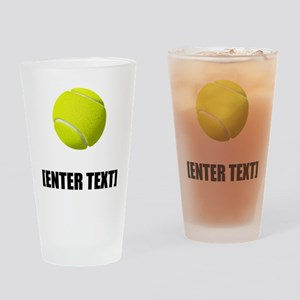 Tennis Personalize It! Drinking Glass