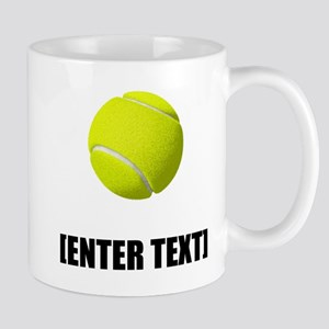 Tennis Personalize It! Mugs