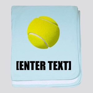Tennis Personalize It! baby blanket