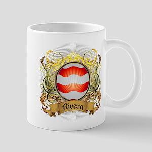 Rivera Family Crest Mug