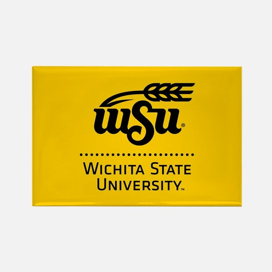 WSU Wichita State University Rectangle Magnet