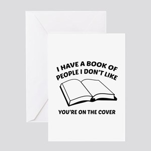 You're On The Cover Greeting Card