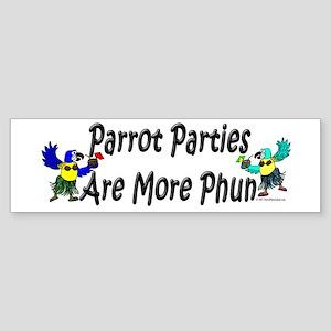 More Phun Bumper Sticker