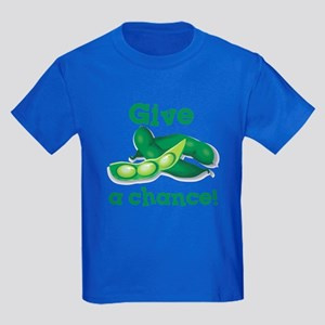 Give Peas a Chance! Kids Dark T-Shirt
