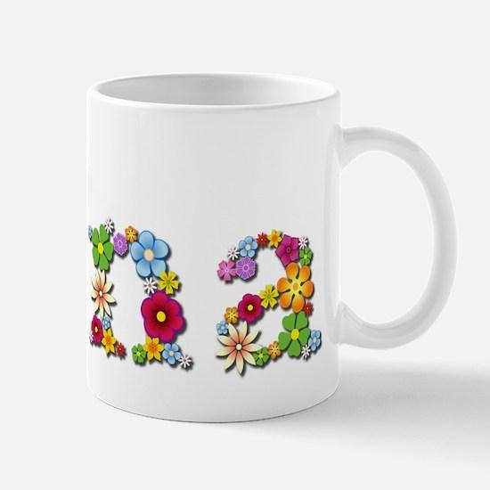 Edna Bright Flowers Mugs