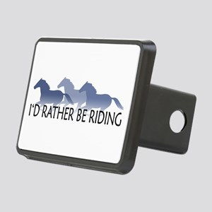 Rather Be Riding A Wild Horse Rectangular Hitch Co