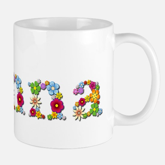 Donna Bright Flowers Mugs