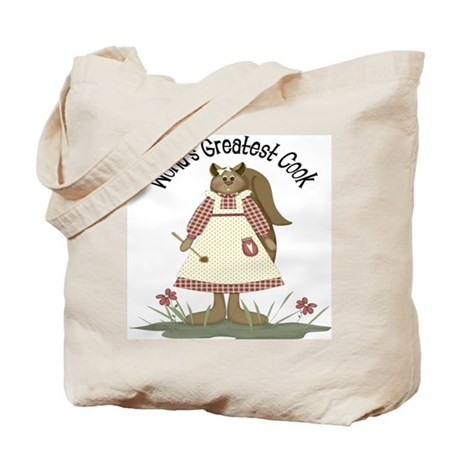World's Greatest Cook Tote Bag