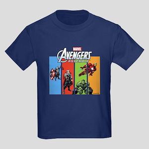 Avengers Kids Dark T-Shirt