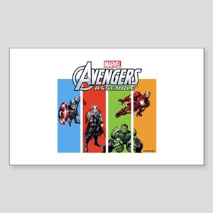 Avengers Sticker (Rectangle)