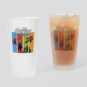 Avengers Drinking Glass
