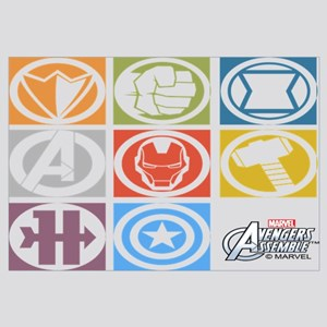 Avengers Squares Wall Art
