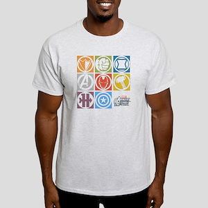 Avengers Squares Light T-Shirt
