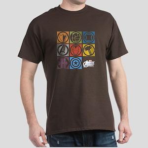 Avengers Squares Dark T-Shirt