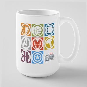 Avengers Squares Large Mug