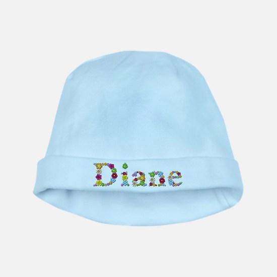 Diane Bright Flowers baby hat