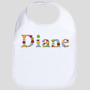 Diane Bright Flowers Bib