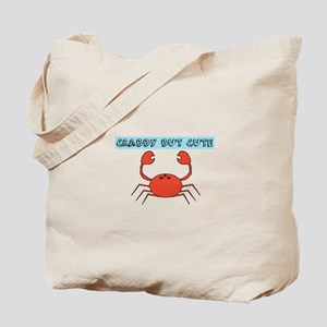 CRABBY BUT CUTE Tote Bag