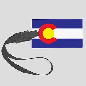 Colorado State Flag Large Luggage Tag